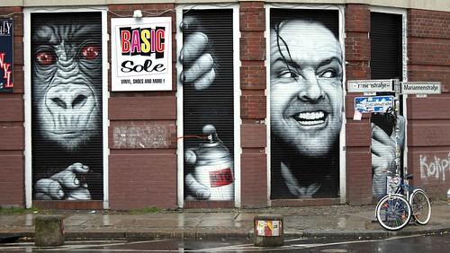 граффити николсон берлин