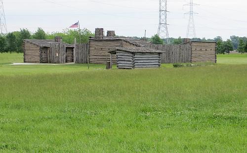 Replica of Camp Dubois