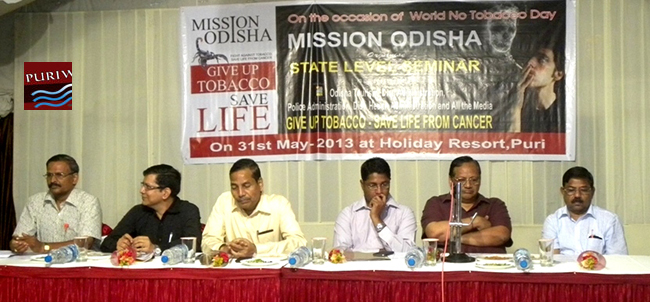 Workshop on Tobacco Free Odisha and Free from Cancer diseases