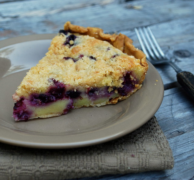 Creamy Blueberry Pie.5
