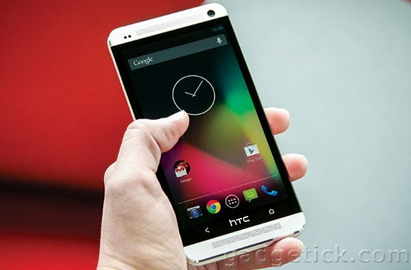 HTC One и стоковый Android
