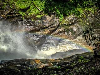 Rainbow at Dry Falls