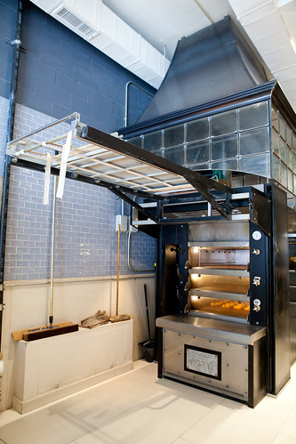 The large commercial oven