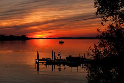 county sunset skyline prince edward sandbanks stunningskies