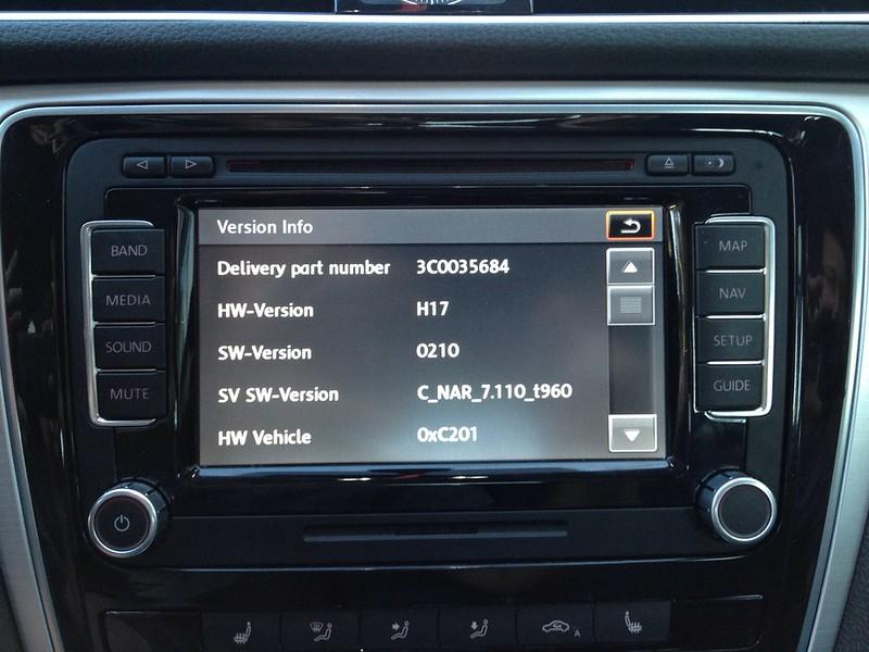 Seat Versions Volkswagen ALL Firmware Skoda RNS510 ALL Software