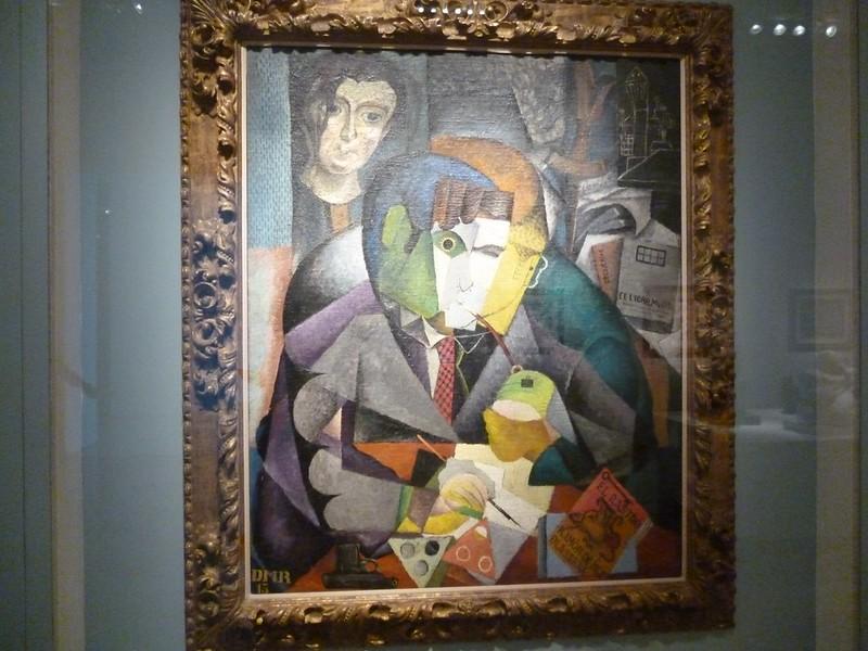 Diego Rivera, Retrato de Ramón Gómez de la Serna (Portrait of Ramón Gómez de la Serna),