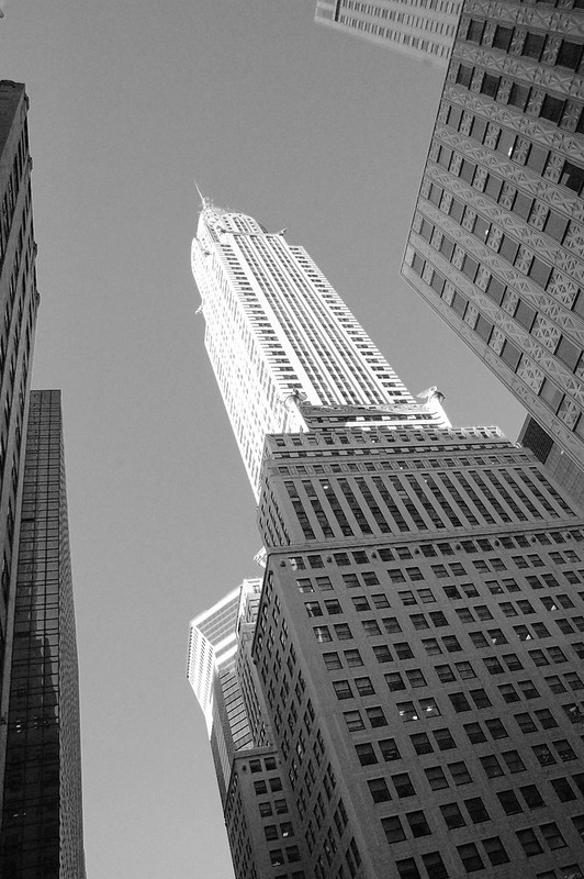 a calamity on the way to the chrysler building. II.