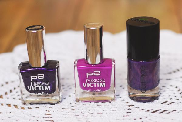 vernis violets