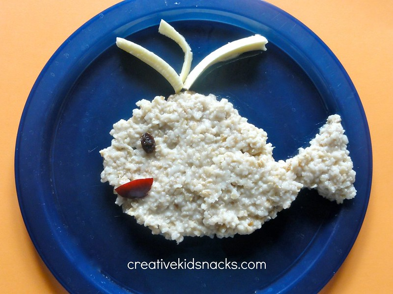 Creative Kid Snacks: Whale of a Breakfast