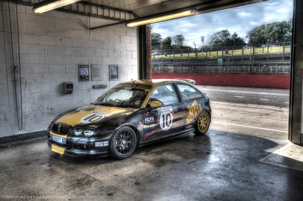 MG ZR Race Car