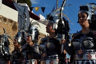 Parade of the Moors & Christians Festival/Mojácar 2013/ Fête maures et chrétiens