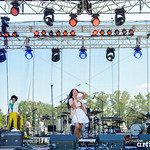 Solange // Bonnaroo photographed by Chad Kamenshine