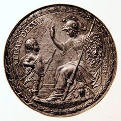 1654 Dutch medal by Pieter van Abeele