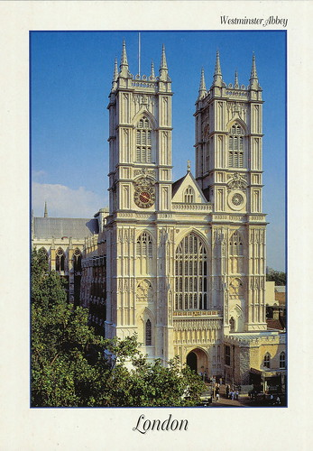 Palace of Westminster and Westminster Abbey including Saint Margaret's Church