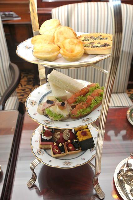 Afternoon tea at the Ritz Carlton