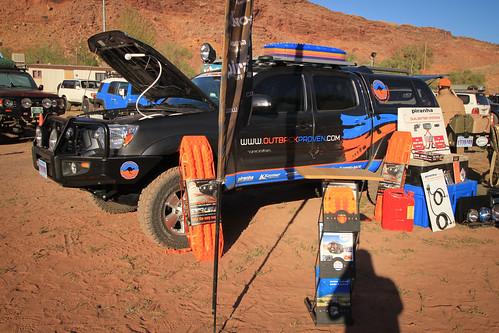 Outback Proven setup at Vendor Night