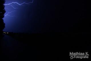 Gewitter über Bayern 6.8.2013