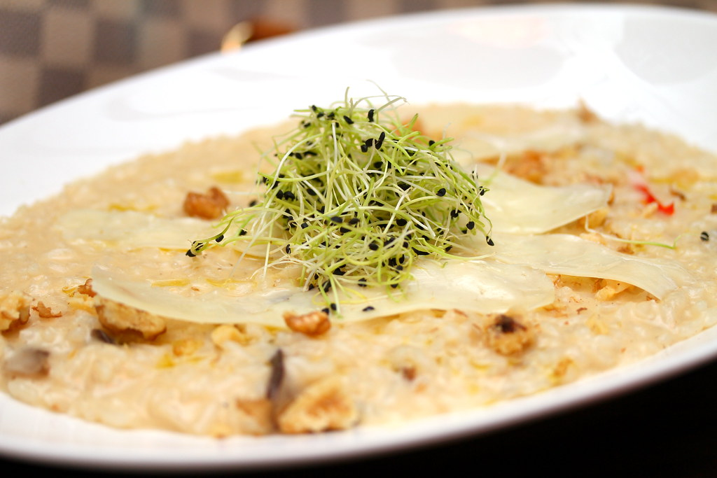 Noti Restaurant and Bar: Mixed Mushroom Risotto