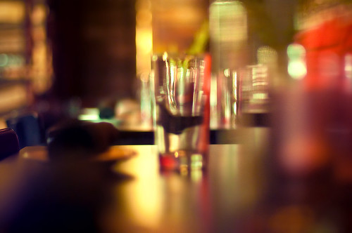 reflection glass colors table 50mm restaurant glasses nikon dof bokeh ambientlight diner drinks refraction ambient josephs jamal highiso shallowdof alleia 50mm14afs proleshi