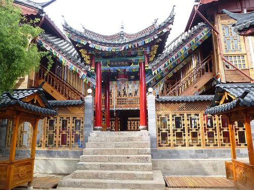 Yunnan13-Lijiang-Temple et Édifices (3)