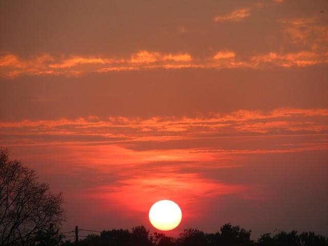 Sundown zwischen Brünen und Schermbeck