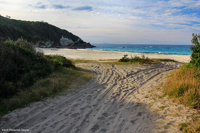 McBrides Beach -  Cape Hawke, Forster
