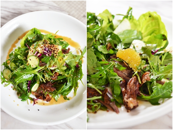 Duck Confit & Orange Salad