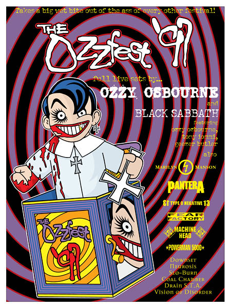 06/22/97 Ozzfest 1997 @ HHH Metrodome, Minneapolis, MN