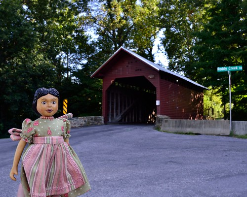 Hitty Rachel at Roddy Road Covered Bridge