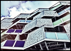 Flats,Highcross,Leicester#Highcross5#Leicester#camera+ by davidearlgray