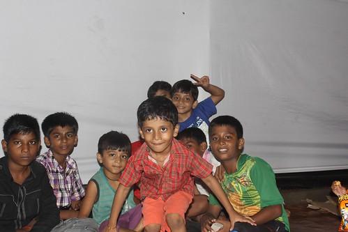 Nerjis Asif Shakir 2 Year Old  Shoots Shaheen Building Ganpati Pandal off Bandra Reclamation by firoze shakir photographerno1