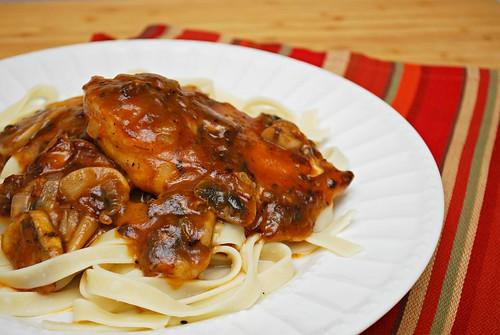 Rich Chicken Marsala