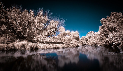IR River Reflections
