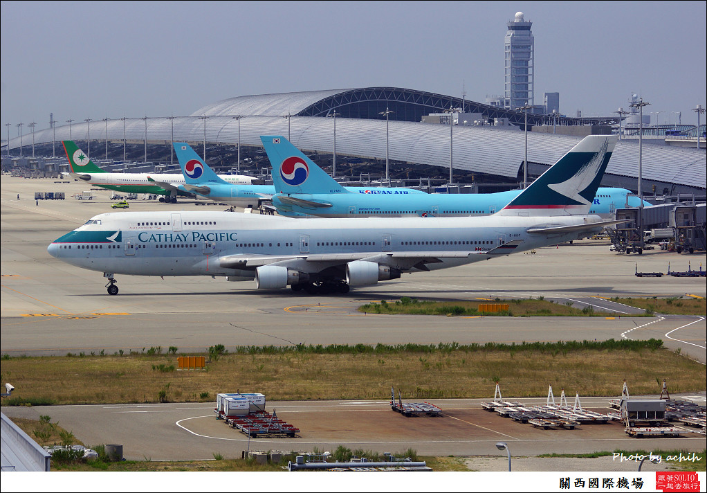 Cathay Pacific Airways B-HKF-012
