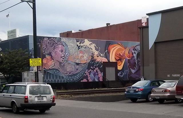 Mural, Portland, OR, USA