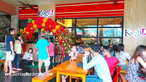 Lunch at Kogi Bulgogi in Promenade, Greenhills