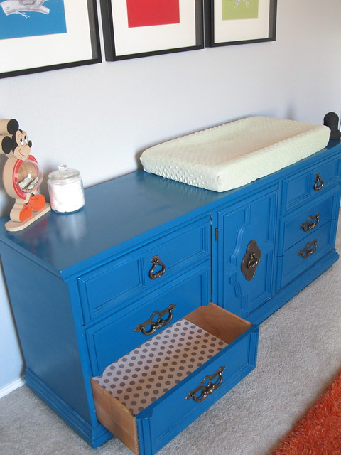 lined drawers dresser