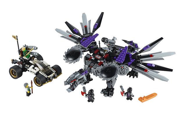LEGO Ninjago 2014 70725 - Nindroid MechDragon