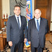 Secretary General Meets with Argentine Member of Parliament Sergio Massa