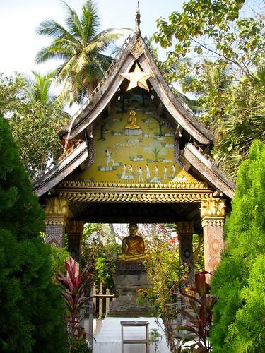 Jardines del Wat Xieng Thong