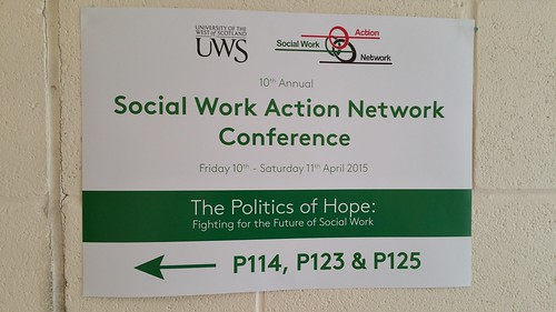 Social Work Action Network (SWAN) 2015