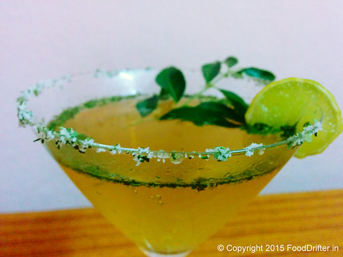 Curry Leaves Mocktail