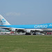 PH-CKA Boeing B767-406FER KLM Royal Dutch Airlines Cargo - Martinair Stansted 15th April 2015 by michael_hibbins