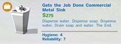 Gets the Job Done Commercial Metal Sink