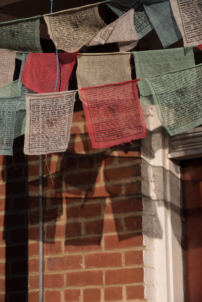 urban prayer flags in RVA