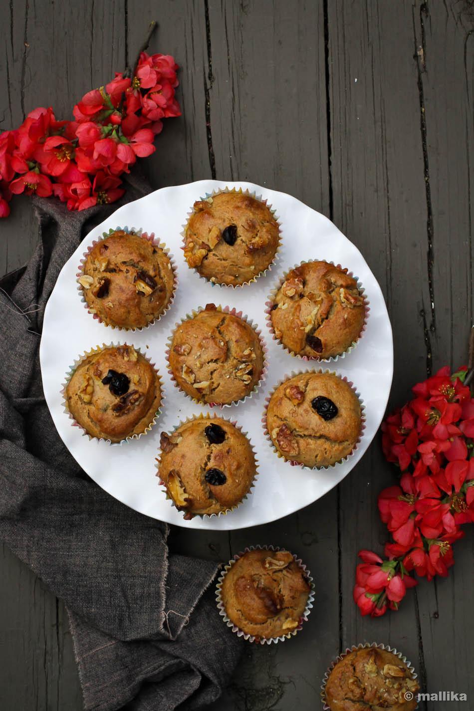 Banana Cardamom Muffins_2