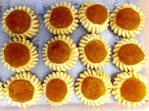 Homemade jam tarts