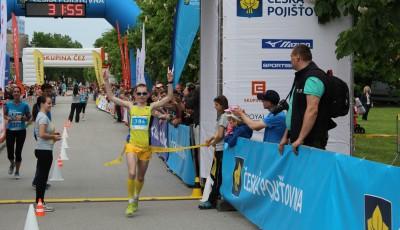 RunTour: V Olomouci zvítězili Dymák a Kamínková