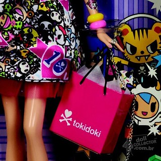Barbie Tokidoki 2015 detail