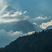 High Winds on Dhaulagiri I by Stewart Miller Photography